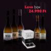 Kép 1/5 - Love box - borválogatás és társasjáték (fehér)