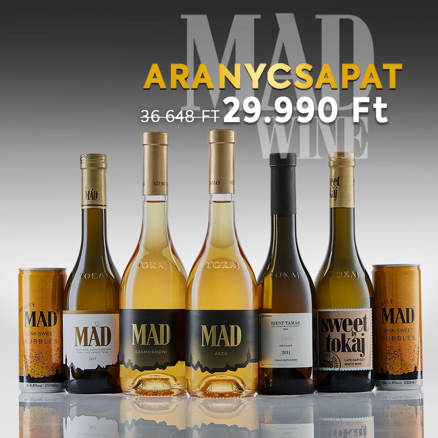 Aranycsapat borválogatás – díjnyertes borok