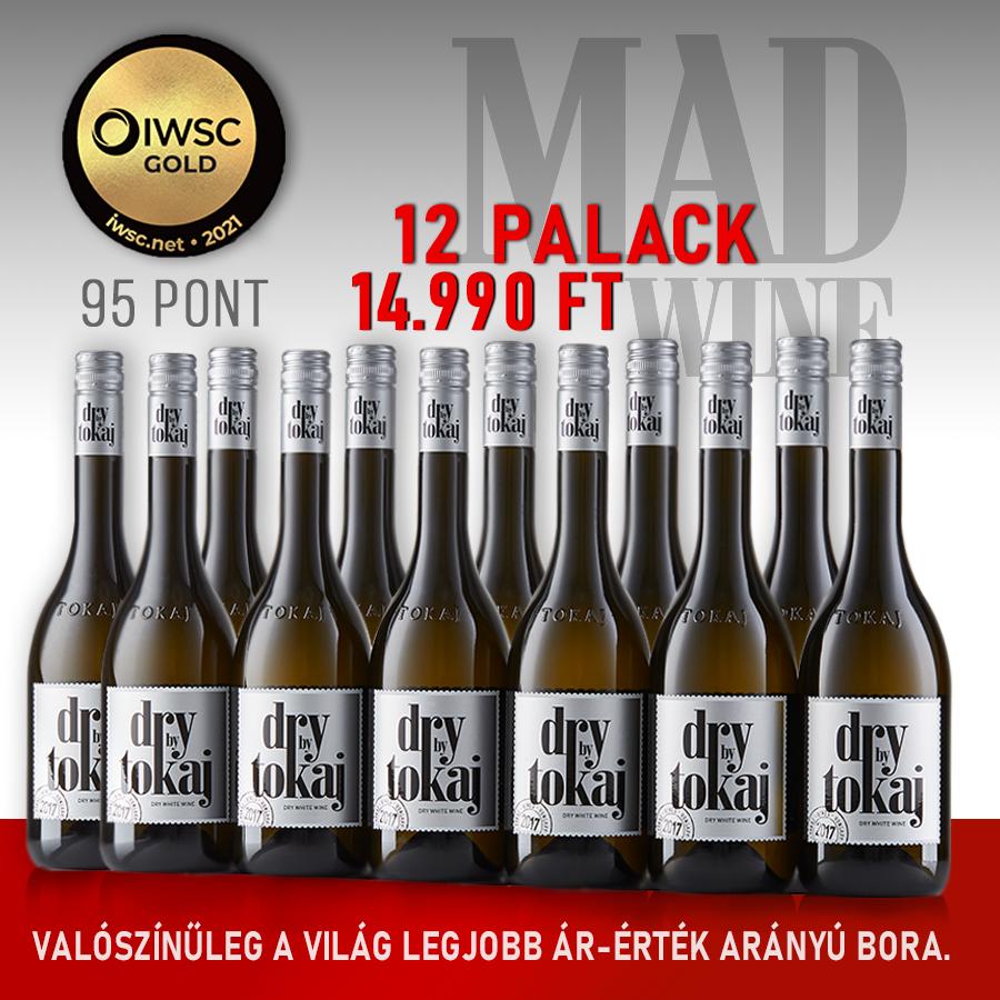 Dry by Tokaj 2017 - 12 palackos borcsomag