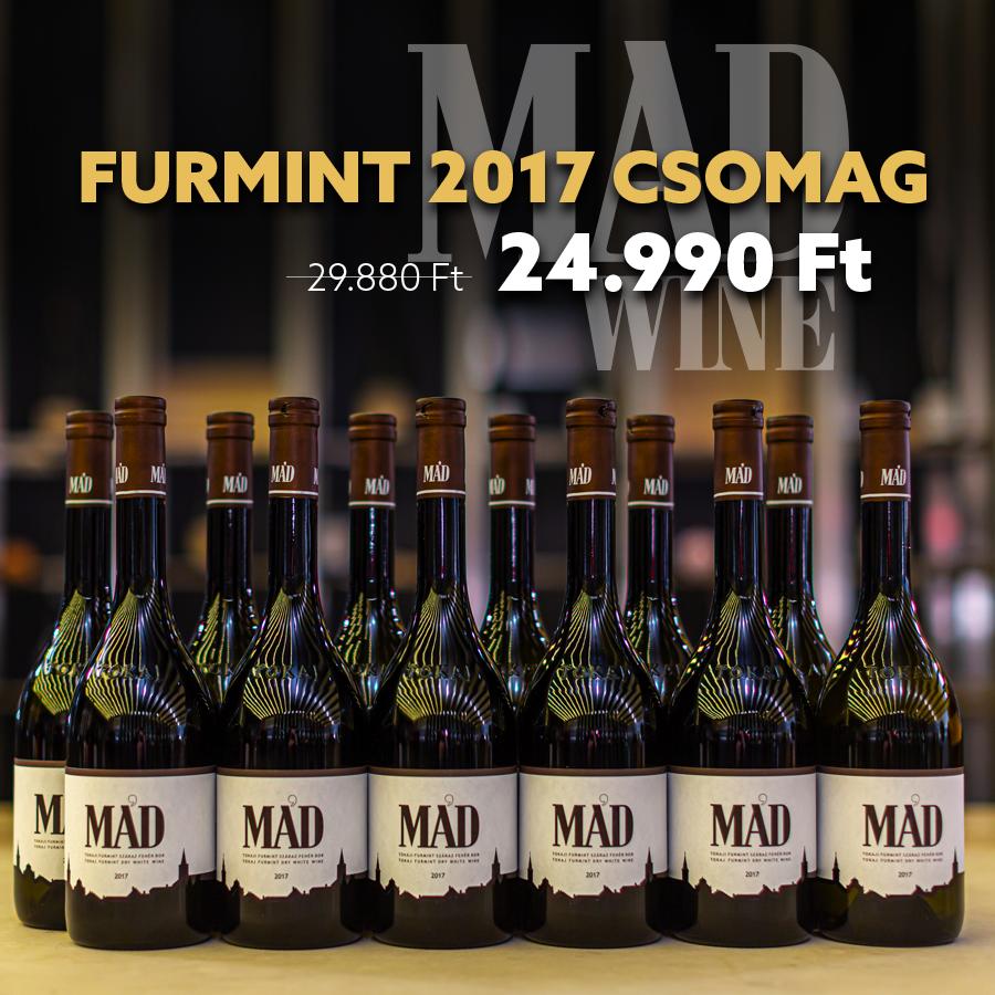 MAD Furmint 2017 - 12-es karton