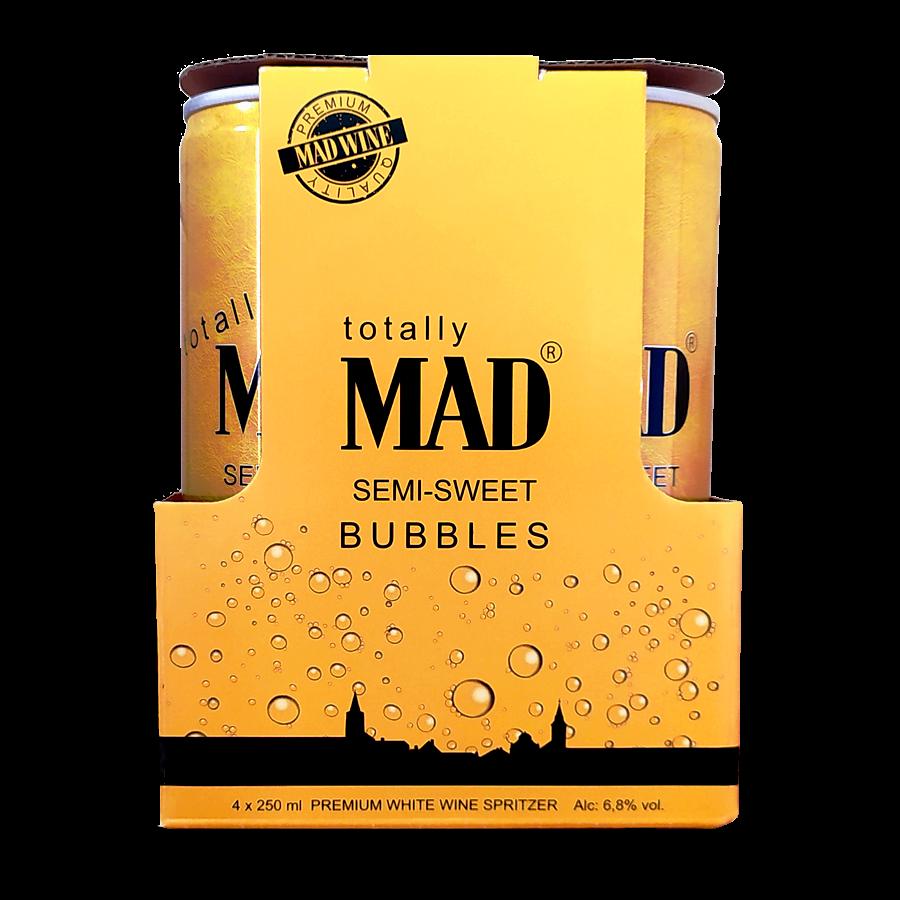 MAD BUBBLES - 4-es csomag félédes (4x0,25l)