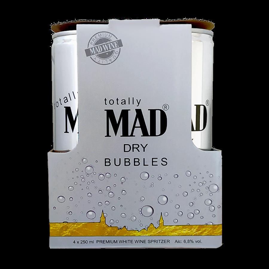 MAD BUBBLES - 4-es csomag száraz