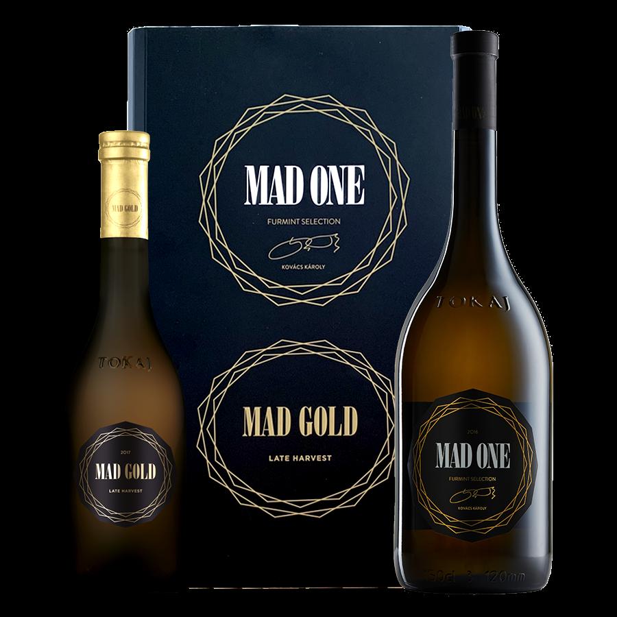 MAD ONE 2018 - 0,75 l. +  MAD GOLD 2017 - 0,375 l.