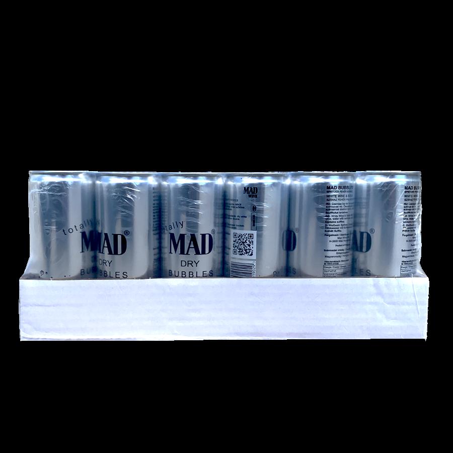 MAD BUBBLES - száraz dobozos fröccs - 24 db (24 x 0,25l)
