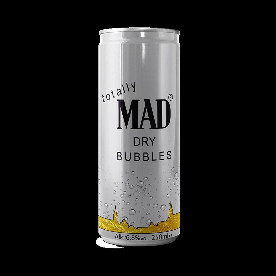 MAD BUBBLES - száraz dobozos fröccs 0,25l