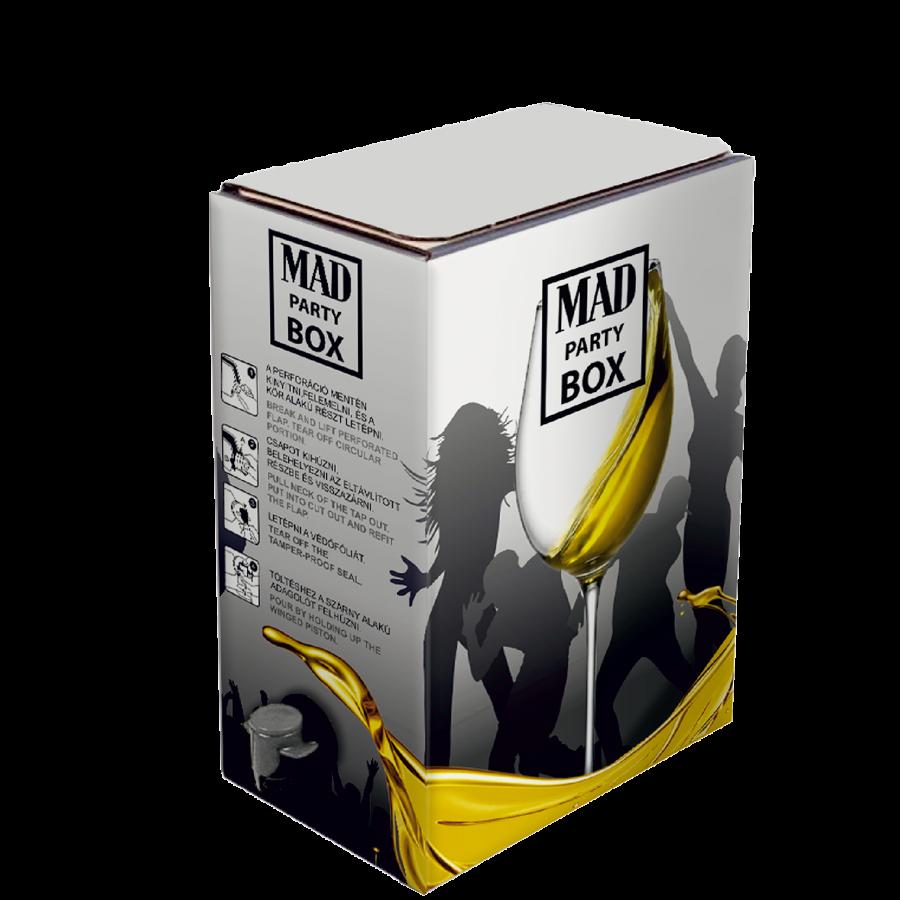 MAD Party box - félszáraz furmint - 3l